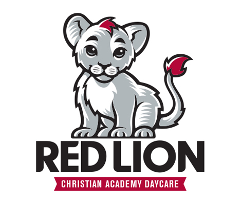 Red Lion Daycare Logo